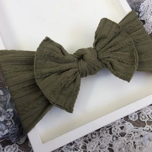 Other - Boutique Baby Girls Olive Green Headband